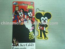 soft PVC key cover