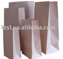 LKPB014 brown kraft grocery paper bag without handle
