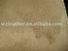 PU Artificial Leather laminated with suede for lady shoes