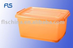 Household plastic clothing container