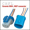 9004/9007/HB1 ceramic headlight connector