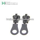 Fancy zipper slider&accessory garment