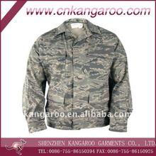 Digital Tiger Stripe Camouflage - Mens ABU Coat (Nylon/Cotton Twill) / military uniform