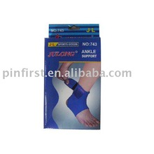New Ankle Supports Cotton Elasticity Blue Prevent Injuries