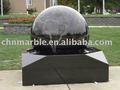 granito negro bola