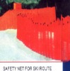 Safety Net for Ski Route