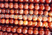 Fashion oval cut coral gemstone beads