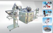 Cap Liner cutting and inserting Machine