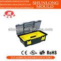 Yuyao shunlong 2014 neues design und meistverkauften kunststoff-werkzeugkasten schimmel