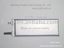 Rechangeable Li - baterías de polímero de vela 513696