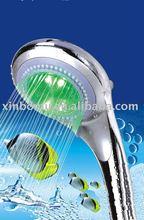 7 colors temperature sensor shower color changing shower head