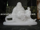 Hand carved marbl Buddha statue sculpture for gift