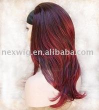 Synthetic Kanekalon 3/4 Wig