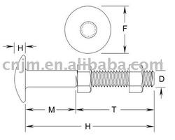 ASTM A449 Headed Bolt/Rods/Anchor bolts