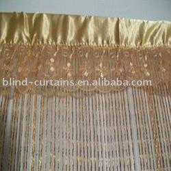 decoration String fringe curtain latest design