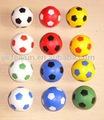 pu mágico colorido mini bola de futebol