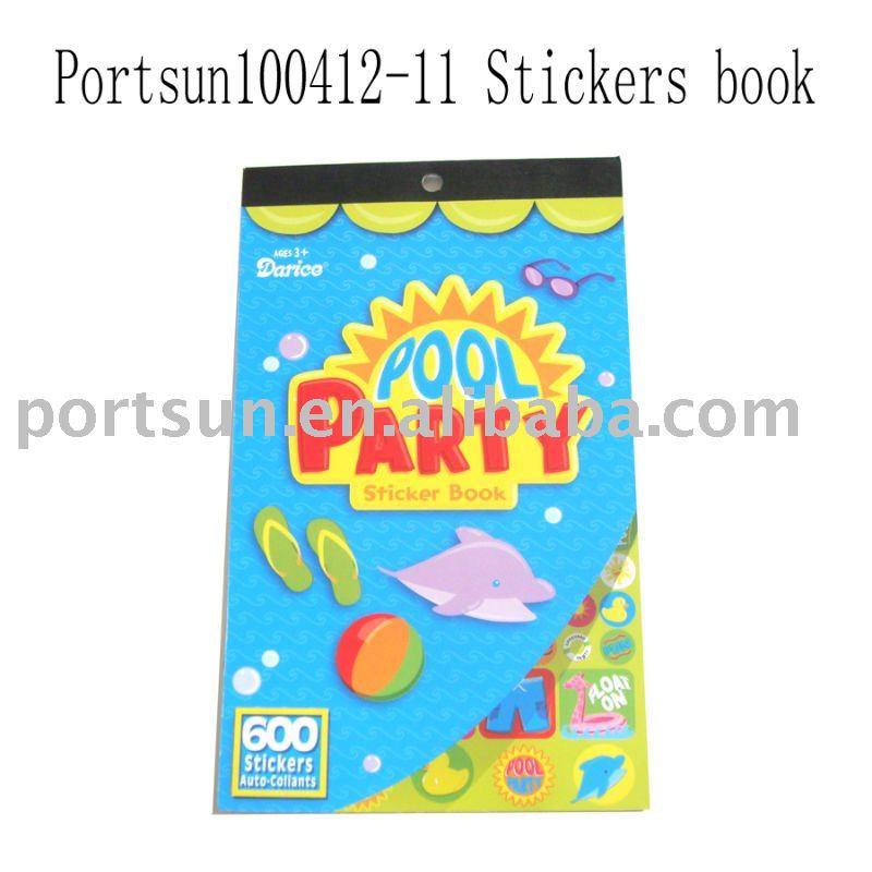 2012 christmas sticker book
