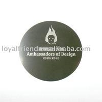 Name & logo metal plate