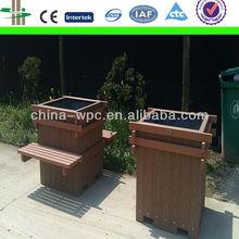 wpc outdoor garden pots&planters