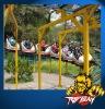 amusement park rides (space cars coaster)