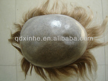 wholesale beauty Human Hair Pu Toupee for Man