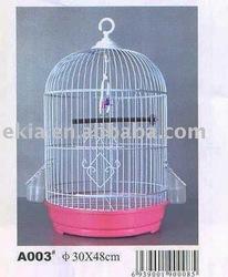 round metal bird cage