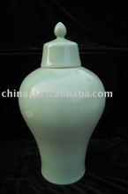 celadon porcelain vase porcelain jar with cover WRYKX11