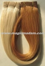 2013 Popular Product 100% Remy Hair Human Hair Hand Tied Weft