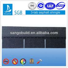 SGB 20-40 Years Dark Black Bituminous Shingle Roofing