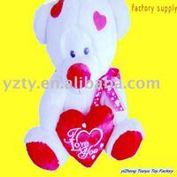 YangZhou factory supply cute plush &stuffed teddy bear toy