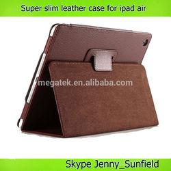 Tablet case cover super slim folio leather case for ipad air mini 2 3 4 , for ipad case air mini 2 3 4 , for ipad leather case