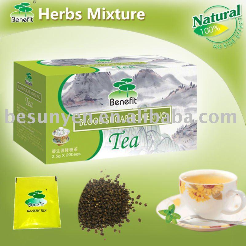 Blood Sugar Lowering Tea herb medicine