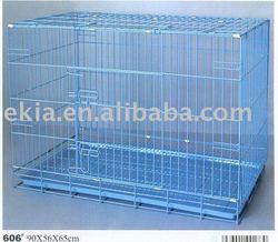 metal folding dog cage
