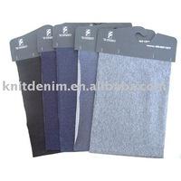 Organic knitted denim Fabric
