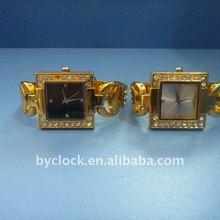 Unique design- 2012 diamond chain watch for couple