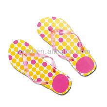 kids nude PE beach slipper flip flop