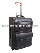 fashion travel luggage set luggage cart