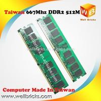 Taiwan PC OEM RAM MEMORY DDR2 800 667 512M 1Gb 2Gb MODULE