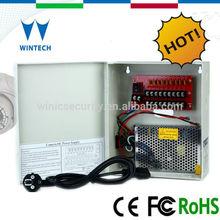 9 Channels 5Amp power supply battery backup cctv