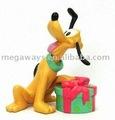 Bonito dos desenhos animados 3D PVC figura toy