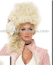 Cheap Synthetic Hair Party Wig