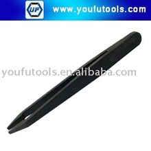709 Plastic Conductive Tweezer (Flat Tips)