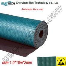 ESD anti-fatigue floor mat green color