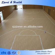 China Maple Wood Basketball Sports Flooring