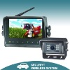 Wireless rear view system with 7 inch digital touch buttons monitor