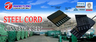 rubber steel cord conveyor belt