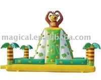 kids play inflatable climbing rock/monkey inflatable climbing mountain