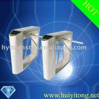 Semiautomatic Bridge Round Angle turnstile gate--HYT023