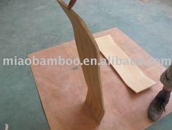 bamboo skateboard uncut deck (P-22)