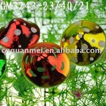 glass mushroom for easter decoration